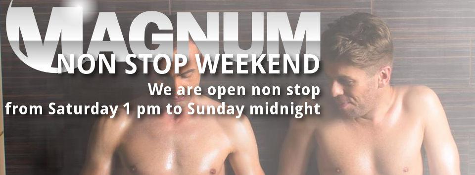 Non Stop Weekend @ Magnum Sauna