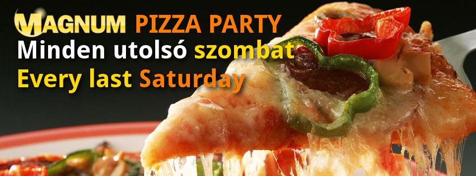 Magnum Pizza Party @ Magnum Szauna