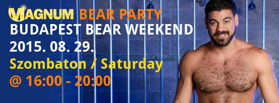 Magnum Bear Party @ Magnum Szauna