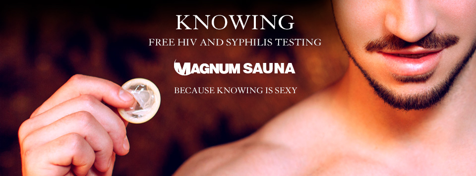 HIV/STD test at Magnum